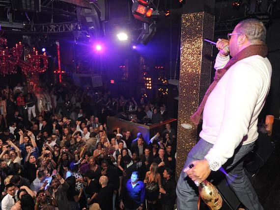 Busta Rhymes Performs at TAO Las Vegas