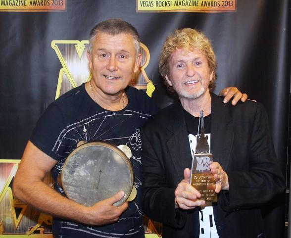 Carl Palmer and Jon Anderson