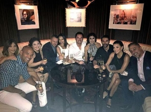 Actress Eva Longoria Spotted at FIZZ Las Vegas