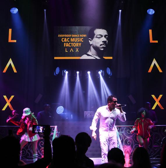 C+C Music Factory Performs at LAX Nightclub inside Luxor Hotel and Casino