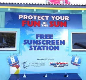 Comprehensive Cancer Centers of Nevada and Wet'n'Wild Las Vegas Expand Partnership to Keep Skin Safety Top-of-Mind This Summer