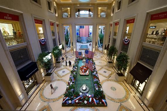 The Palazzo and USO Las Vegas honor America's Deployed Soldiers
