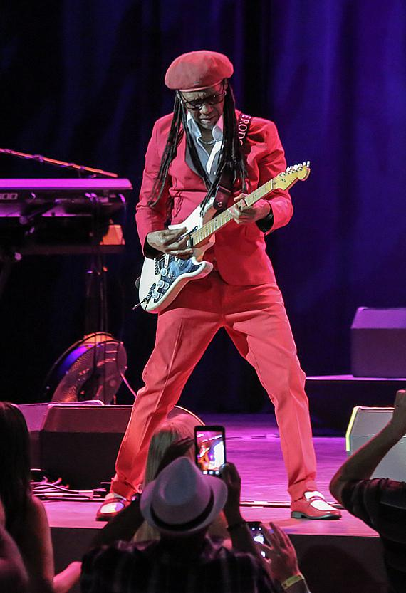 CHIC with Nile Rodgers performs at The Pearl at The Palms Las Vegas
