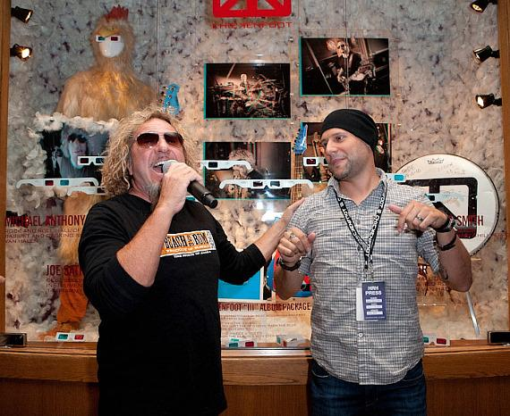 Sammy Hagar talks about the showcase with guitarist Joe Satriani