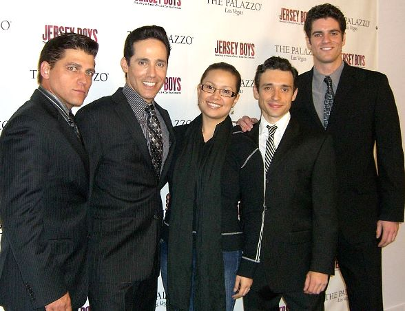 "Lea Salonga of ""Miss Saigon"" Fame Attends Jersey Boys"