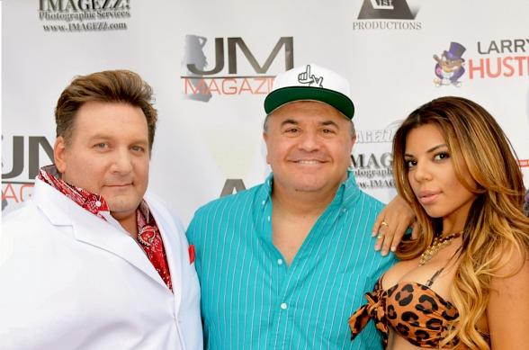 Memorial Day Weekend: Johnny Ray Performs at Star-Studded Roof Top Bash Above Larry Flynt's $50 Million Hustler Club