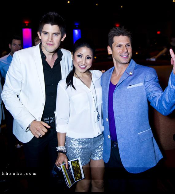 Ben Stone, Jasmine Trias and Mike Hammer