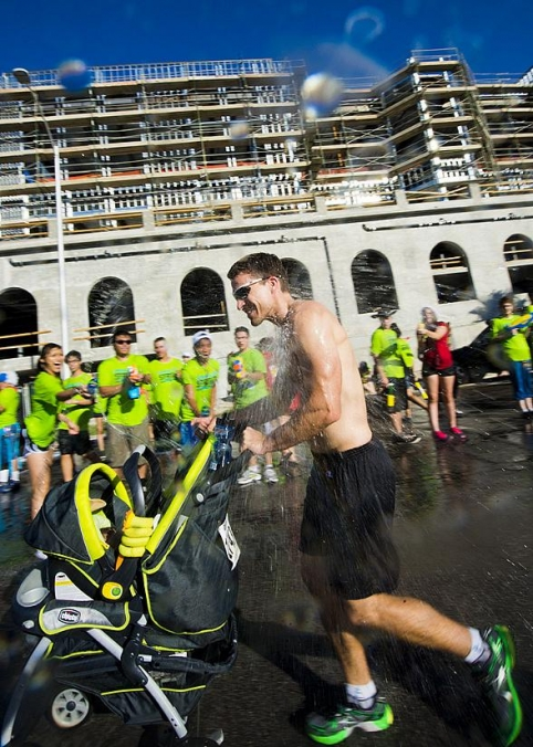 Inagural Spinkler Sprint 5K in Downtown Las Vegas