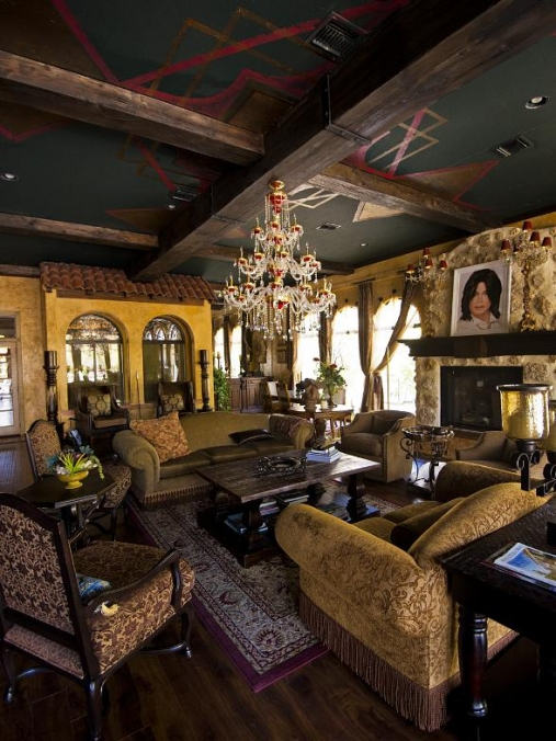 """Dressed To Thrill"" Masquerade Ball at Michael Jackson's The Thriller Villa Estate in Las Vegas Oct. 25"