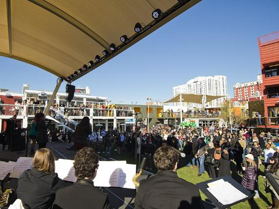 Downtown Container Park Grand Opening