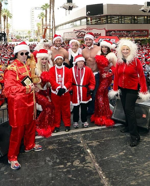 Opportunity Village's Ninth Annual Las Vegas Great Santa Run Takes Place in Downtown Las Vegas