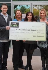 CSI: The Experience Raises $3,621 for S.A.F.E. House Las Vegas