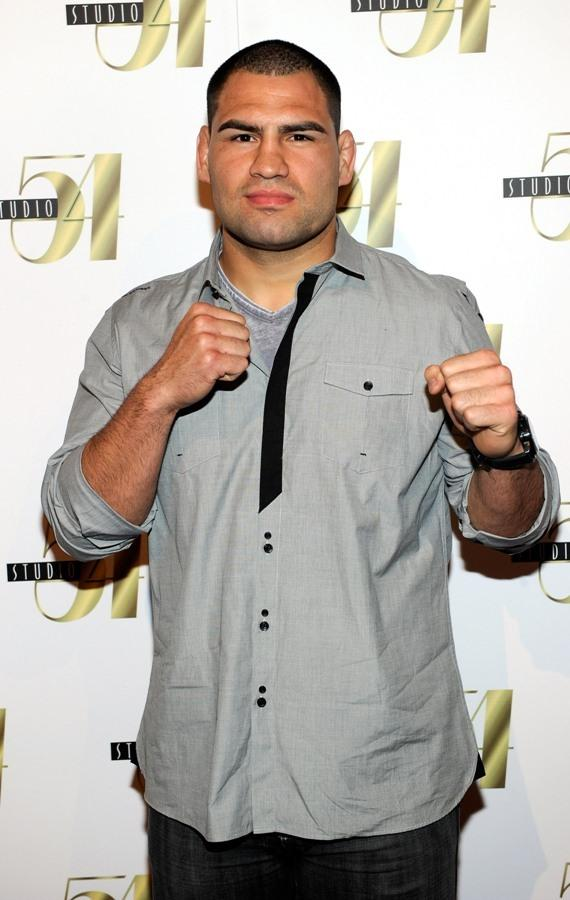 Cain Velasquez on Red Carpet at Studio 54