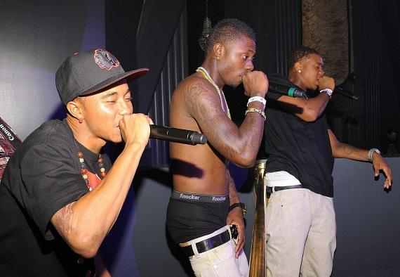 Cali Swag District performs at Chateau Nightclub