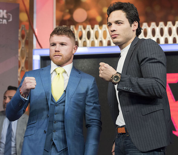 Canelo Alvarez & Julio Caesar Chavez, Jr. Mexico City Press Conference Quotes