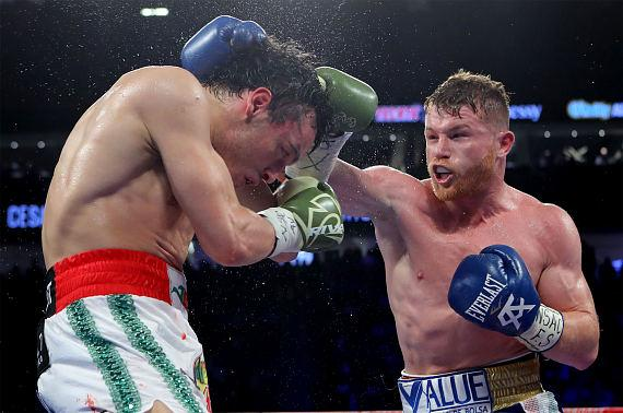Canelo Alvarez Shuts Out Julio Cesar Chavez, Jr. in Cinco de Mayo Weekend Spectacular at Sold-Out T-Mobile Arena in Las Vegas