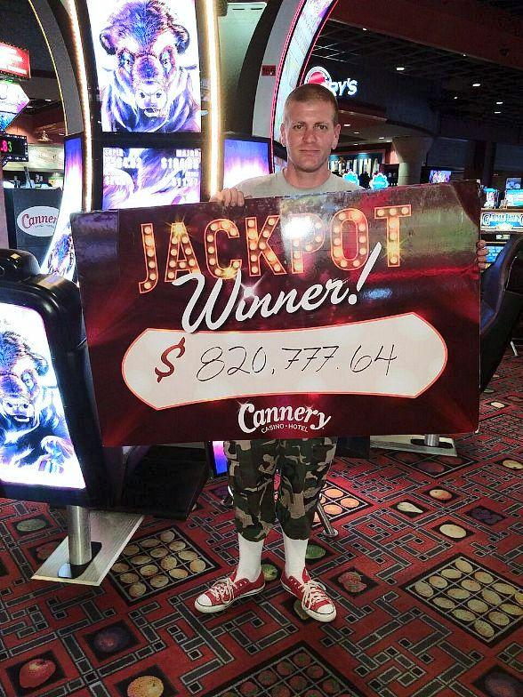 Las Vegas Local Hits $820,777.64 Buffalo Grand Jackpot at Cannery Casino Hotel