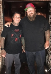 Motocross Legend Carey Hart and Rapper Big B visit the D Las Vegas