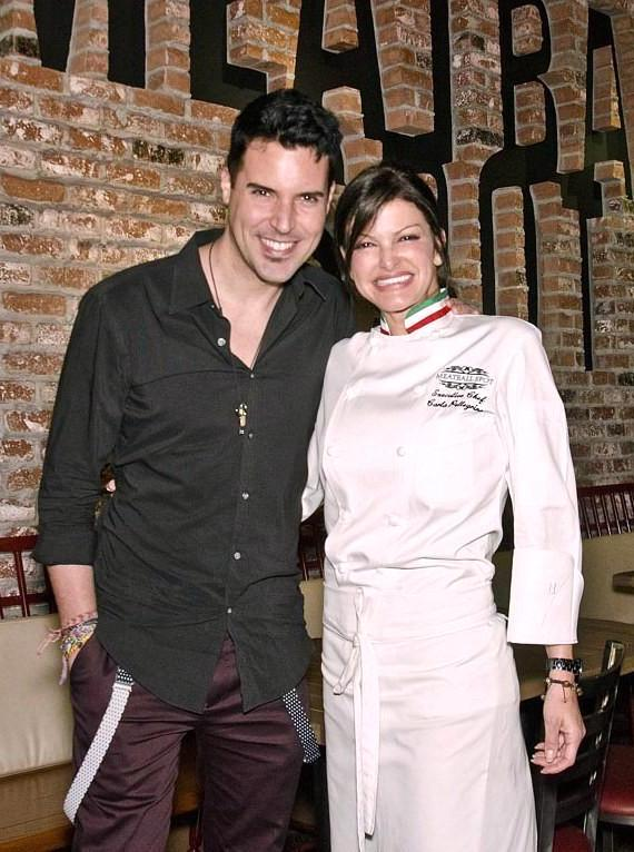 Chef Carla Pellegrino and Frankie Moreno