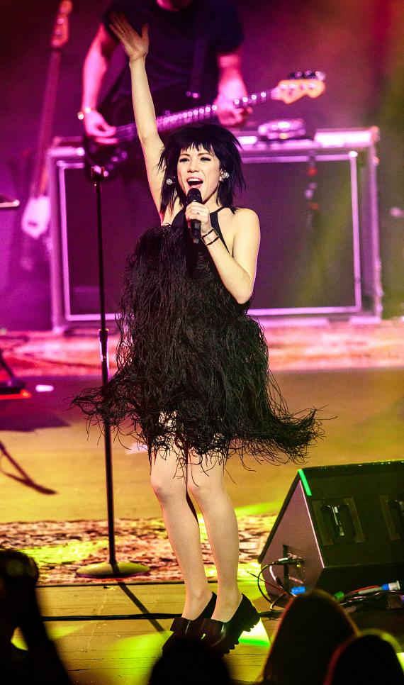 Carly Rae Jepsen performs at The Venetian Las Vegas