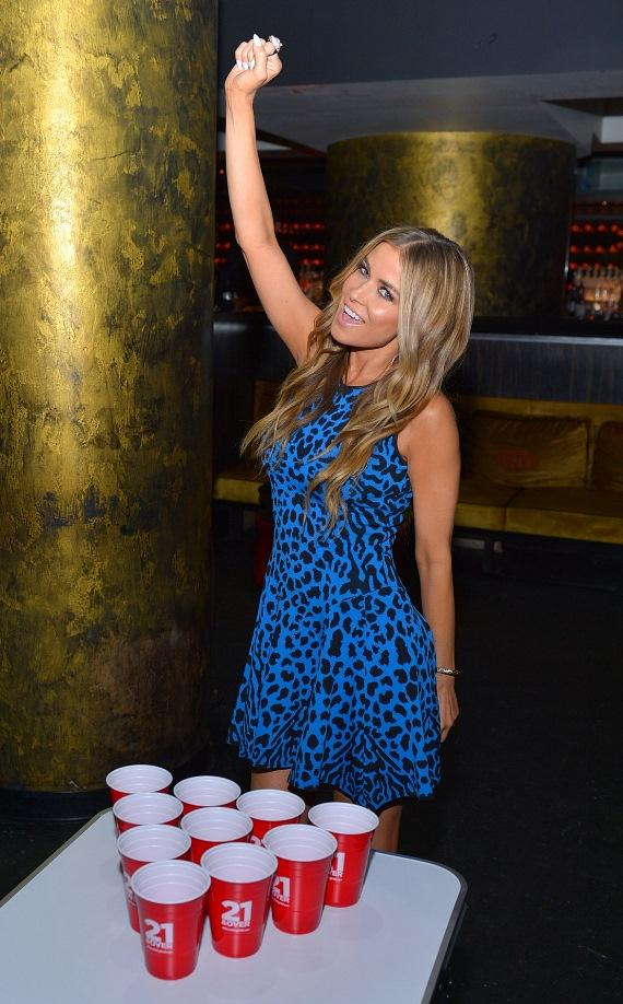 Actress/model Carmen Electra celebrates the Blu-ray & DVD release of 21 & Over at HAZE Nightclub at Aria in Las Vegas