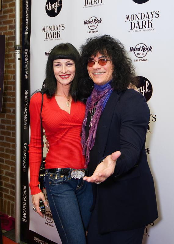 Carmen and Paul Shortino (Raiding the Rock Vault)
