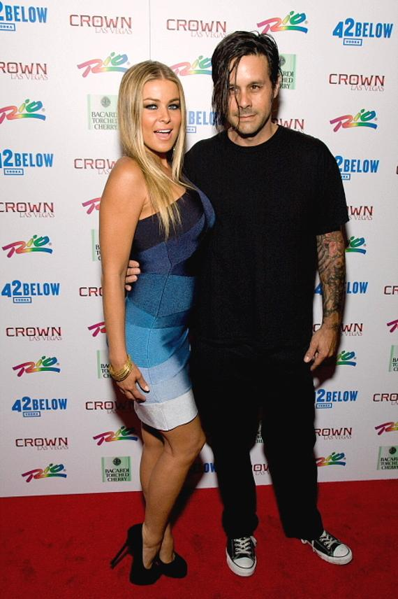 Carmen Electra and Rob Patterson at Crown Nightclub