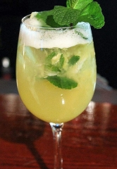 "Carmine's ""Pot of Gold Pineapple Mojito"" Cocktail for St. Patrick's Day"