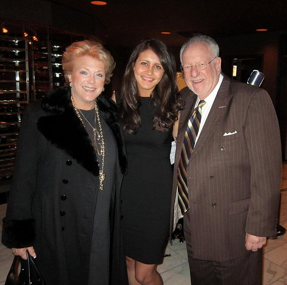 Mayor Carolyn Goodman, Sarah Frances Johnston and Oscar Goodman