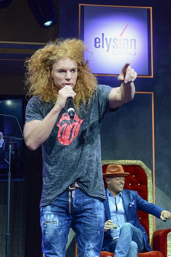 Carrot Top and Claire Sinclair HelpThe Calida Group Celebrate 10-Year Anniversary and Exclusive Birthday Event with Official Launch of the Elysian Living Foundation
