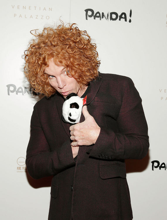 Carrot Top at world premiere of PANDA!