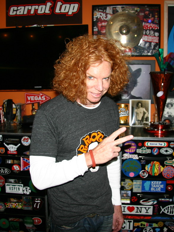 Carrot Top Joins Hard Rock Int