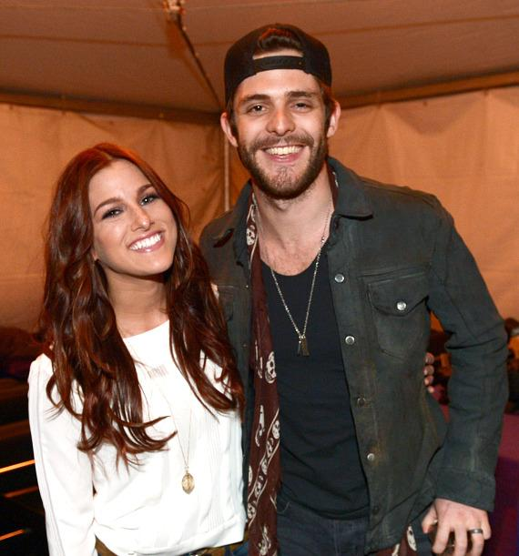Cassadee Pope and Thomas Rhett