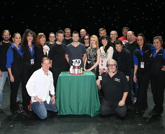 Cast and Crew of Mat Franco-Magic Reinvented Nightly