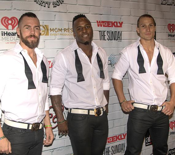 Cast of Chippendales walk the red carpet