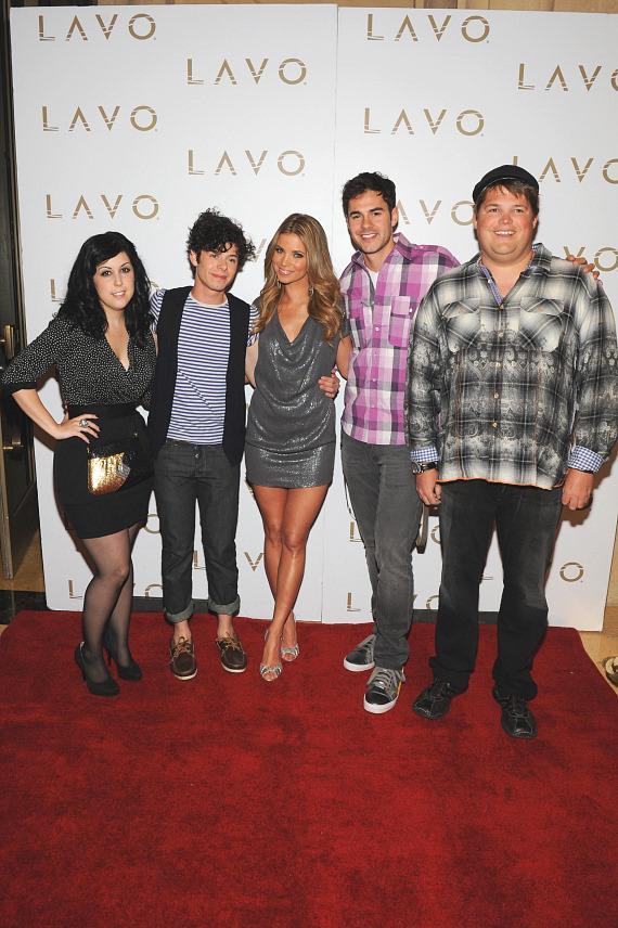 Cast of MTV's Hard Times of RJ Berger at LAVO