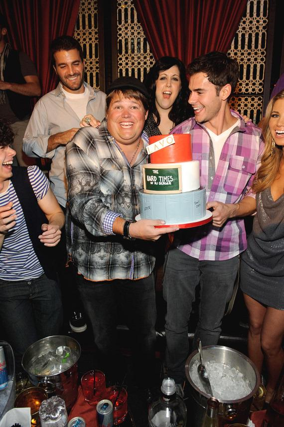 Cast of RJ Berger at LAVO