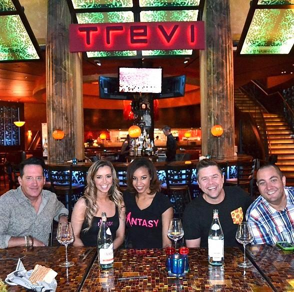Anthony Cools, Mariah Rivera, Ashton, Big D and Johiah judge Charity Cooking Competition at TREVI Italian Restaurant