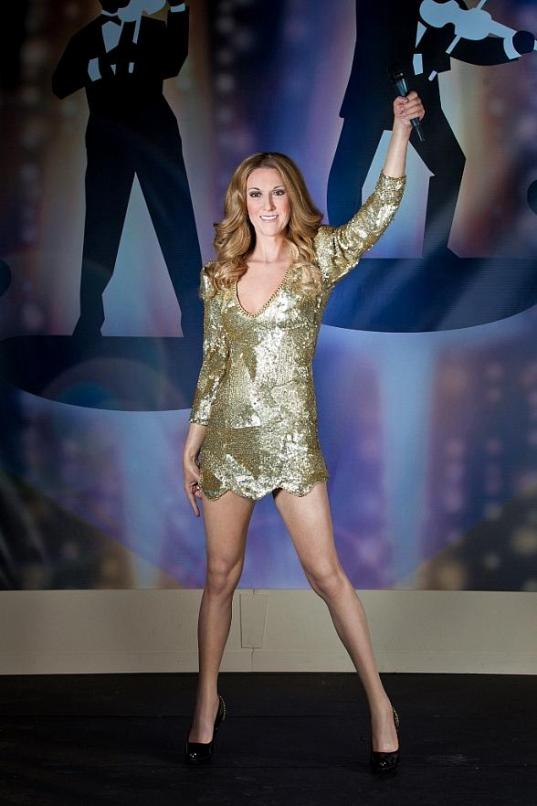 Madame Tussauds Unveils Wax Figure of Las Vegas Headliner Celine Dion