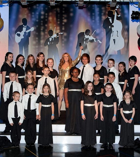 Celine with Clark County Children's Choir