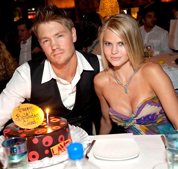 Chad Michael Murray and Kenzie Dalton at LAVO