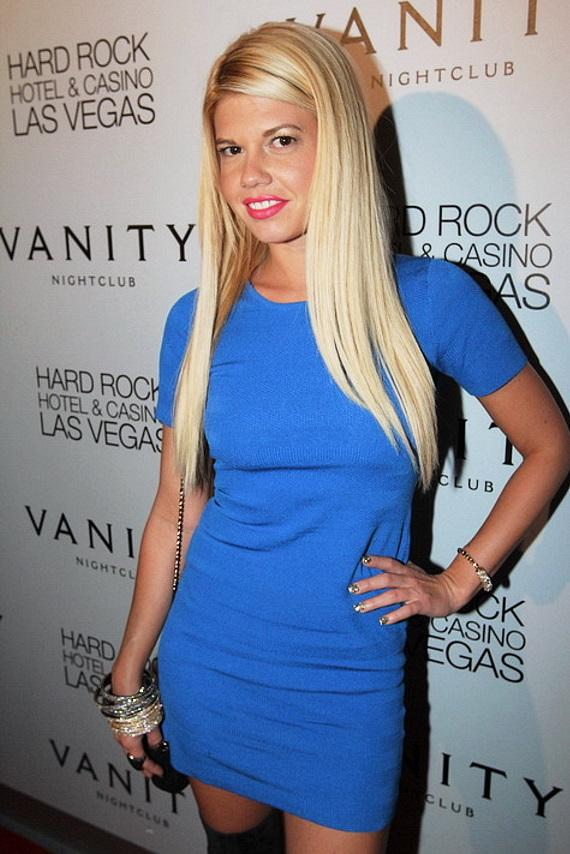 Chanel West Coast arrives at Vanity