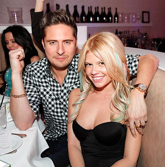 Chanel Westcoast and Rich Skillz at Bagatelle LV NYE Gala