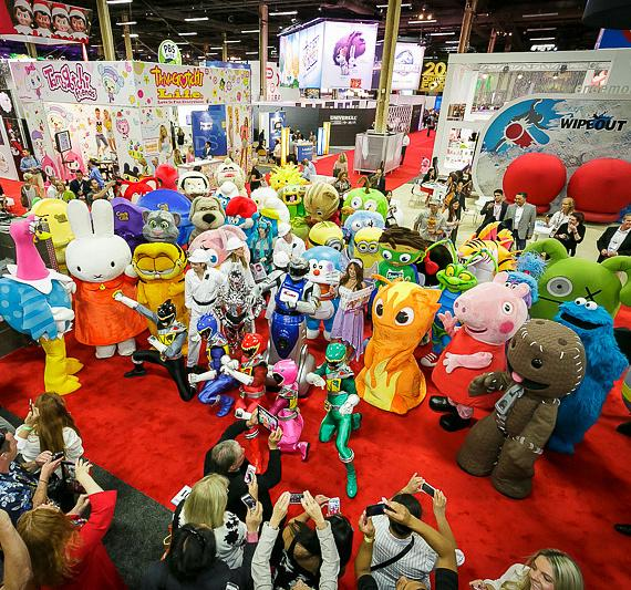 Character Parade at Licensing Expo