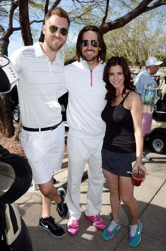 Charles Kelley, Jake Owen and wife