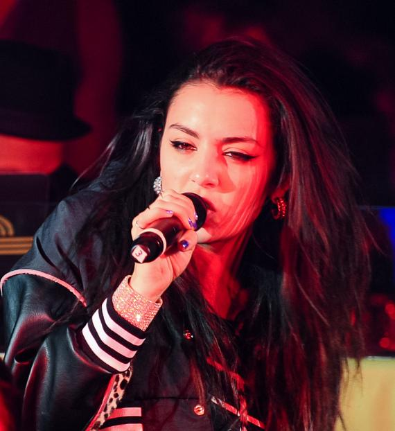 English artist Charli XCX performs at LAVO's Vice Sundays