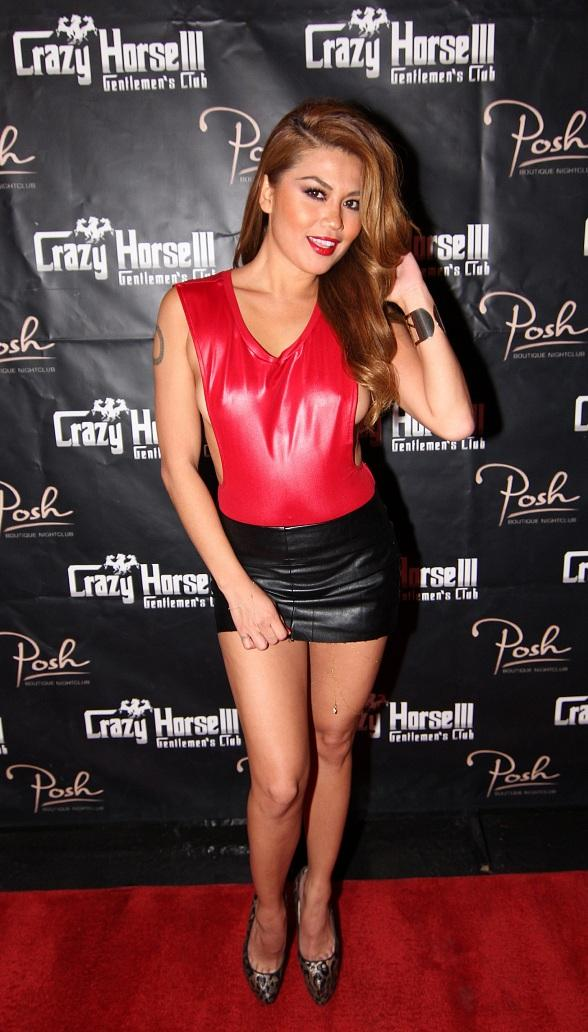Charmane Star Hosts at Crazy Horse III for SEMA Show Partiers
