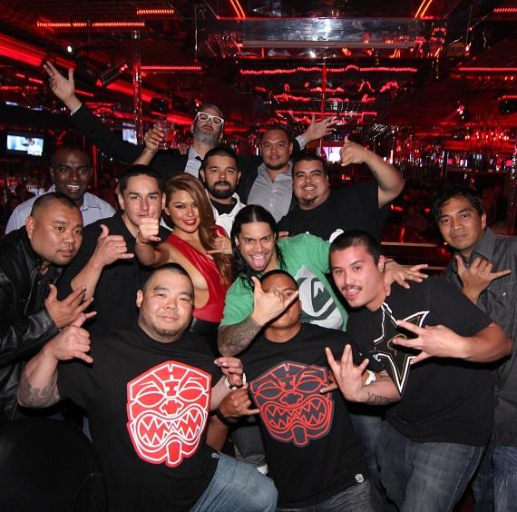 Charmane Star with Fans