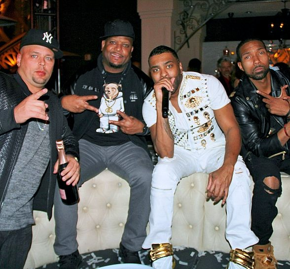 R&B Artist Ginuwine Hosts and Performs at Chateau Nightclub & Rooftop at Paris Las Vegas