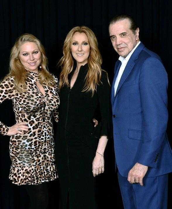"Actor Chazz Palminteri attends ""Celine"" at The Colosseum at Caesars Palace"